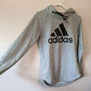 adidas gray pullover hoodie